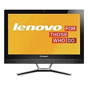 Lenovo 联想 C560 23英寸一体机电脑(i5-4460T 8G内存 1T硬盘 2G独立显卡 DVD刻录 wifi Win10) (i5-4460 8G 1T 2G独显, 黑色)