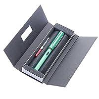 LAMY 凌美 AL-star恒星系列标准F尖墨水笔(钢笔)蓝绿色-E107礼盒包装(标配吸墨器)