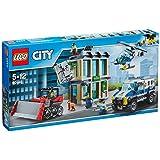 LEGO 乐高 LEGO City 城市系列 推土机抢银行 60140 5-12岁 积木玩具