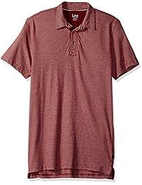 LEE 男式短袖超柔软 Polo 衫