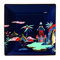 "Wedgwood Wonderlust Camellia 托盘,14.48cm,多种颜色 Blue Pagoda 5.7"" 40023908"