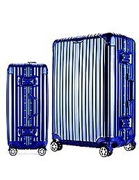 JamayZeyliner 佳美吉利亚 铝镁合金框PC箱出国旅行箱拉杆箱登机箱托运箱万向轮JF6012