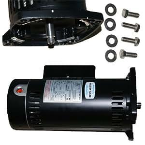 Zodiac R0445109 3/4-HP 单速电机和硬件替换件 适用于 Zodiac PHPF 系列 PlusHP 泵