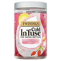 Twinings 川宁 Cold In'Fuse 玫瑰柠檬茶(6瓶装 共72个)