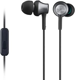 Sony 索尼 MDR-EX650AP耳机,带黄铜外壳,麦克风和控制 - 黑色