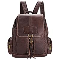 coofit 女式合成皮革背包手提包双肩包包旅行包背包