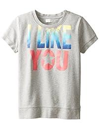 The Children's Place 大女孩短袖运动运动衫