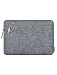 "舒适的 MacBook 内胆包,带口袋 Dark Gray 13"" for New Mac Pro 2017 & 2018"