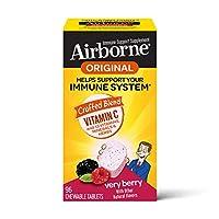 Airborne 漿果咀嚼片,96片-1000毫克維生素C -補充劑