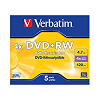 Verbatim DVD-RW 4,7 GB – 1 件