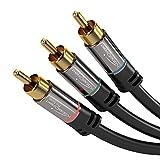 kabeldirekt component CABLE–黑色/灰色 P1