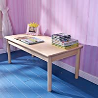 Sampo 松堡王国 北欧松木 实木长方桌 客厅茶具桌 写字玩具桌SP-GP005(亚马逊自营商品, 由供应商配送)