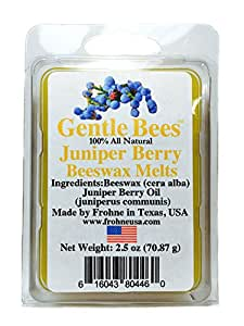 Gentle Bees Juniper Berry Beeswax Melts
