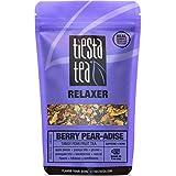 Tiesta Tea 浆果梨天堂 浓郁梨果茶,30 份,袋装2.4盎司/68克-不含咖啡因,散叶草本茶放松混合茶饮