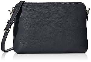 abro 女式 Adria系列小号肩包 027815-37/10 黑色 21 * 5.5 * 15.5cm (亚马逊进口直采, 德国品牌)