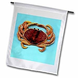 钓鱼–螃蟹–旗帜 12 x 18 inch Garden Flag
