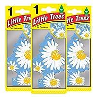 Little Trees ltz074 空气清新剂-雏菊链香料-3件装,3件套