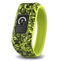 Garmin 佳明 vivofit JR 儿童成长智能健康追踪手环 活动监测任务分配时尚运动手表