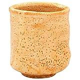 美浓烧 林亮次 茶杯 (含木盒) 红志野一客 138-9906