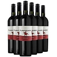 宝路红干红葡萄酒智利原瓶进口红酒 750ml*6整箱装
