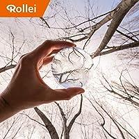Rollei Lensball - 照片玻璃球/水晶球由光学镀膜的 K9 玻璃玻璃,非常适合DSLR、DSLM 和智能手机22668 60 mm 透明