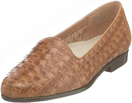 Trotters 女士 Liz 乐福鞋 浅褐色 8.5 XW US