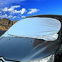 欧斯莱 汽车遮阳挡 可折叠前档 太阳挡 雪挡可两用 夏季前挡风玻璃防雨水 防紫外线夏日防晒 奇瑞旗云东方之子A1A5/A3QQ3瑞虎 马自达2昂克赛拉星骋阿特兹睿翼