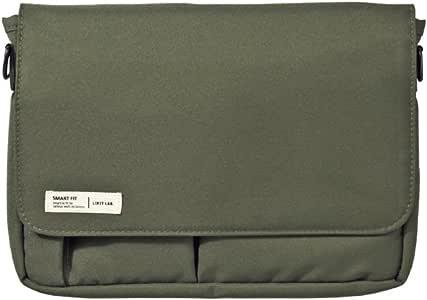 LIHIT LAB. 喜利 日本原装进口smart fit A5多功能收纳包 A-7575便携式包中包 (不含肩带) 22#军绿色