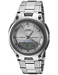 Casio 卡西欧 男式 AW80D-7A 运动计时闹钟,10 年电池,手表腕表