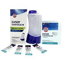 德国Emser 洗鼻器 + 54包专用天然盐包套装 亿年盐矿 (包含国际运费和进口关税)