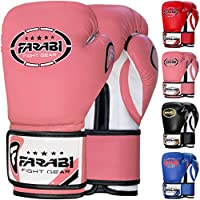 Farabi 226.8 克拳击手套拳击训练拳击袋手套聚焦衬垫训练健身手套