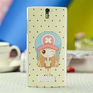 OPPO oppo x909手机保护壳 find5手机壳 x909手机套f ind5保护套 X帽女孩
