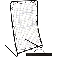 4.5' Infinity Pitchback Return Sports Trainer Screen with Strike Zone and Stakes by Trademark Innovations