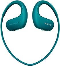 Sony 索尼 NW-WS414 可穿戴式运动防水音乐播放器 蓝色 8G