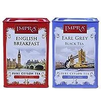 IMPRA 英伯伦 英式伯爵调味茶 组合装 1000g(斯里兰卡进口)(特卖)