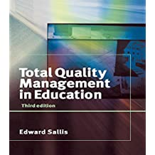 Total Quality Management in Education (English Edition)