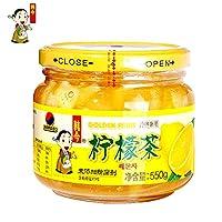 韩今(韩国) 蜂蜜柠檬茶550g(韩国进口)(亚马逊自营商品, 由供应商配送)