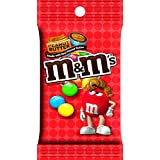 M&M'S 花生黄油巧克力糖 Peg Pack Bag 5.1-oz. Bag (Pack of 12)