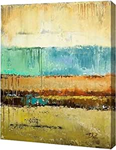 "PrintArt GW-POD-34-9698-19x24""Rain I"" Patricia Pinto Gallery Wrapped Giclee 油画艺术印刷品 24"" x 30"" GW-POD-34-9698-24x30"