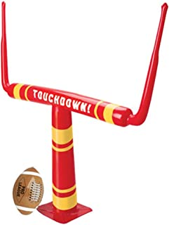 US Toy Blow Up 充气足球球门,46 x 39 英寸 12 months to 84 months 1-包每包 1 条