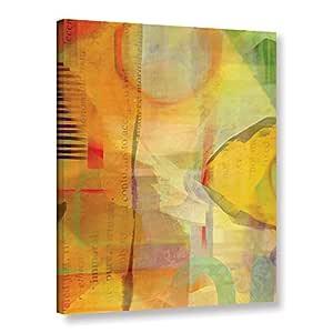 "Tremont Hill Delores Orridge Naskrent ""Immortal Sunshine""画廊包边地板框油画,18X24"