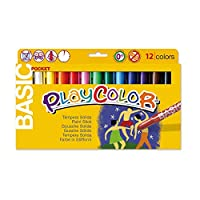 Playcolor 10521 5 g Basic Pocket Solid Poster Paint Stick (Pack of 12)