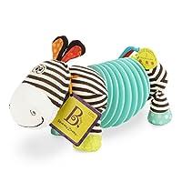 B.Toys 比乐 手风琴斑马 宝宝早教音乐玩具 婴幼儿手抓玩具 感统早教益智 0.5岁+ BX1534GTZ