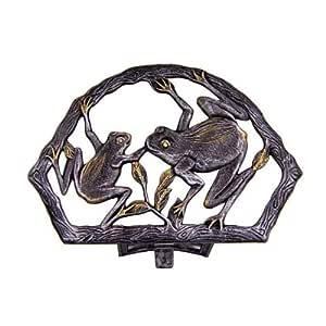Oakland Living Frog Hose Holder 古铜色 21.5L x 9.5W x 14.5H in.