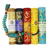 Juccini 藏香烛 ~ 精神*手卷发香料,由*喜马拉雅草本制成 多种颜色