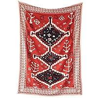 花卉摩洛哥挂毯 Pagan 墙壁挂饰 房间装饰 大帘