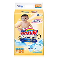 GOO.N 大王 棉花糖系列 纸尿裤 中号M46片 (适合6-11kg ) (日本原装进口,超薄透气)