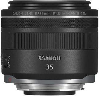 Canon 佳能 RF-35毫米焦距/F1.8大光圈 Macro IS STM 镜头(52毫米滤镜螺纹),黑色