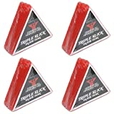 Dime Bag Hardware Triple Slick Skateboard Curb 蜡,樱桃色(4 件装)