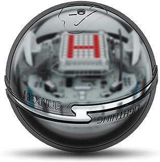 Hexnub 閃電蓋 Sphero Bolt 編碼機器人球玩具保護孩子干部玩具增加牽引增強游戲樂趣 3 種顏色可選 黑色
